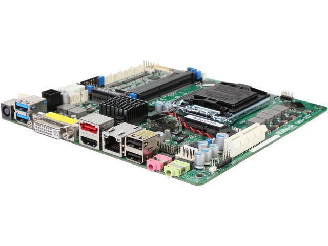 ASRock IMB-183 Mini ITX IPC Server Motherboard LGA 1150 Intel H81 DDR3 1066 / 1333 / 1600 MHz SDRAM