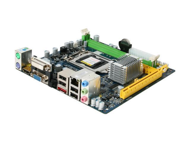 Giada MI-H55-01 LGA 1156 Intel H55 HDMI Mini ITX Intel Motherboard