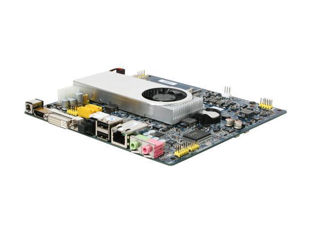 Giada MI-ION2-01 Intel Atom D525 (1.8 GHz, dual core) Intel NM10 Mini ITX Motherboard/CPU Combo