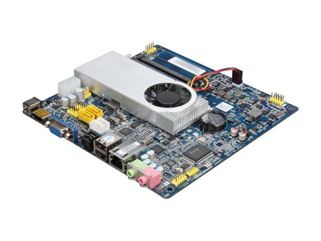 Giada MI-D525T-01 Intel Atom D525 (1.8 GHz, dual core) Intel NM10 Mini ITX Motherboard/CPU Combo