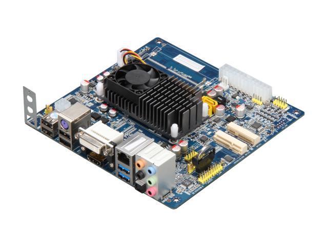 Giada MI-E350-01 AMD E-350 APU (1.6GHz, Dual-Core) Mini ITX Motherboard/CPU Combo