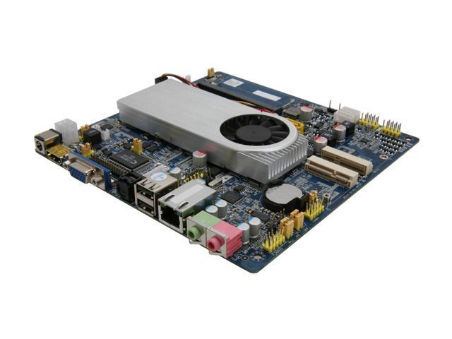 Giada MI-E350T-01 AMD E-350 APU (1.6GHz, Dual-Core) AMD Hudson M1 Mini ITX Motherboard/CPU Combo