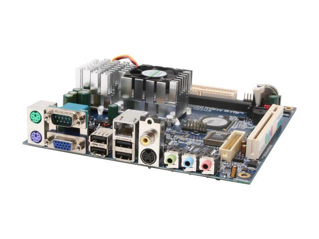 VIA EPIA-CN13000G 1.3GHz VIA C7 nanoBGA2 Embedded Processor VIA CN700 Mini ITX Motherboard/CPU Combo