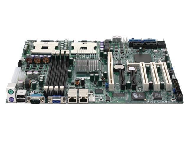 SUPERMICRO X6DVL-EG2-0 ATX Server Motherboard Dual 603/604 Intel E7320 DDR2 400