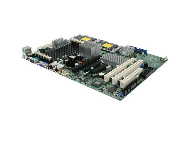 SUPERMICRO MBD-X7DVA-E-O ATX Server Motherboard Dual LGA 771 Intel 5000V DDR2 667
