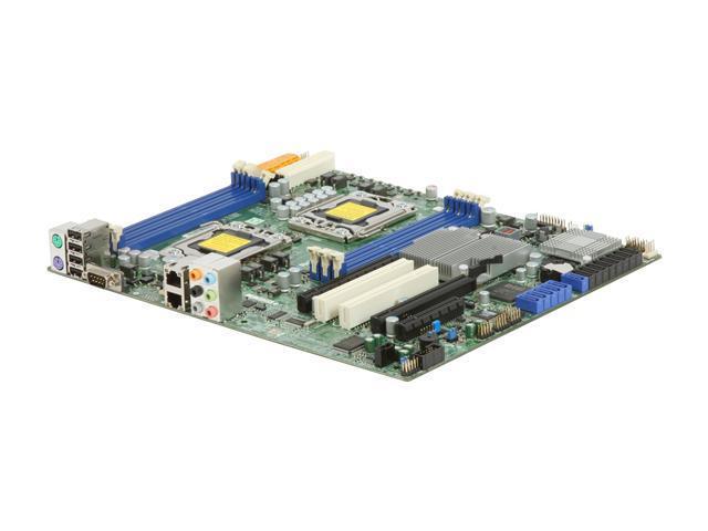 SUPERMICRO MBD-X8DAL-3-O ATX Server Motherboard Dual LGA 1366 Intel 5500 DDR3 1333