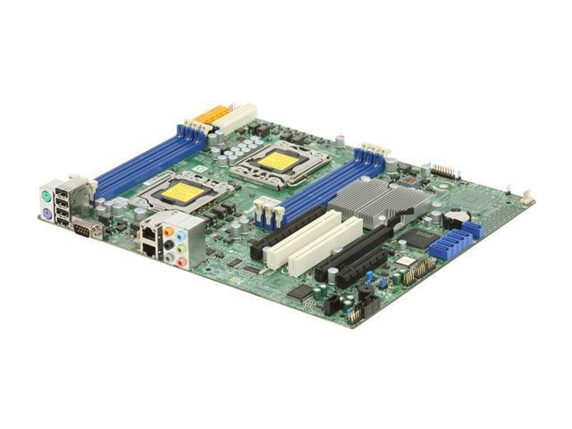 SUPERMICRO MBD-X8DAL-i-O Dual LGA 1366 Intel 5500 ATX Dual Intel Xeon 5500 and 5600 Series Server Motherboard