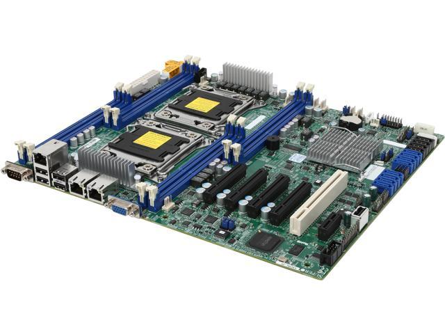 SUPERMICRO MBD-X9DRL-3F-O ATX Server Motherboard Dual LGA 2011 DDR3 1600