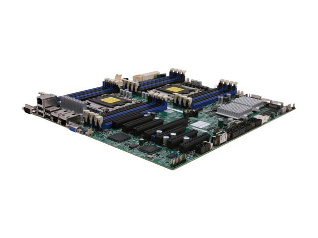 SUPERMICRO MBD-X9DRH-7F-O Extended ATX Server Motherboard