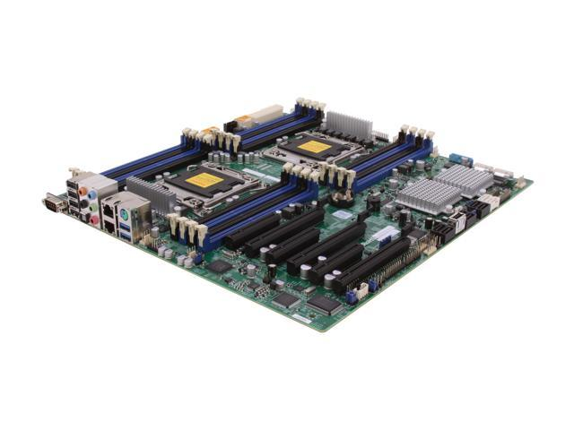 SUPERMICRO MBD-X9DA7-O Extended ATX Server Motherboard Dual LGA 2011 DDR3 1600/1333/1066/800
