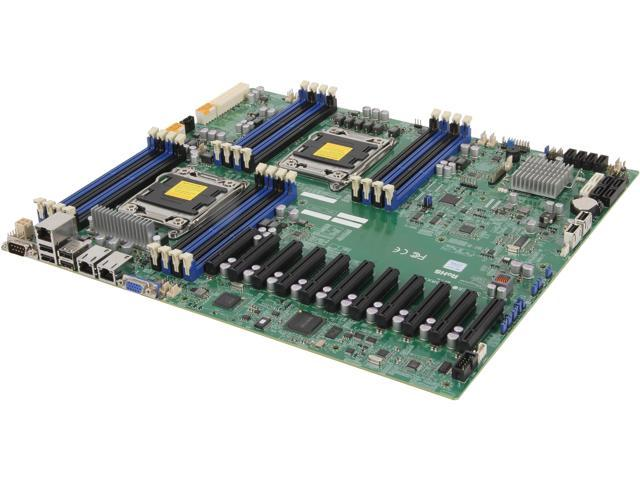 SUPERMICRO MBD-X9DRX+-F-O Proprietary Server Motherboard Dual LGA 2011 Up to DDR3 1600
