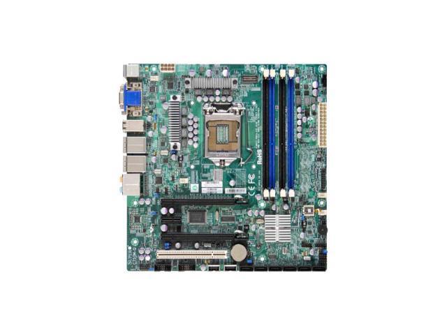 Supermicro C7SIM-Q Desktop Motherboard - Intel Q57 Express Chipset - Socket H LGA-1156