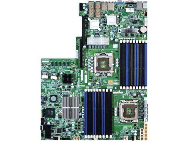Supermicro X8DTU-6TF+ Server Motherboard - Intel 5520 Chipset - Socket B LGA-1366 - Bulk Pack