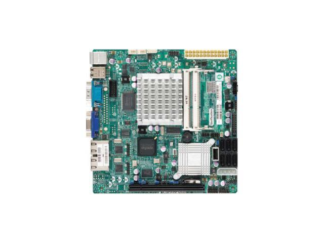Supermicro X7SPA-HF-D525 Desktop Motherboard - Intel ICH9R Chipset - Retail Pack