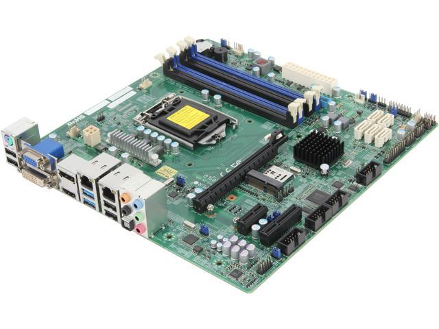 SUPERMICRO MBD-X10SLQ-O Micro ATX Server Motherboard