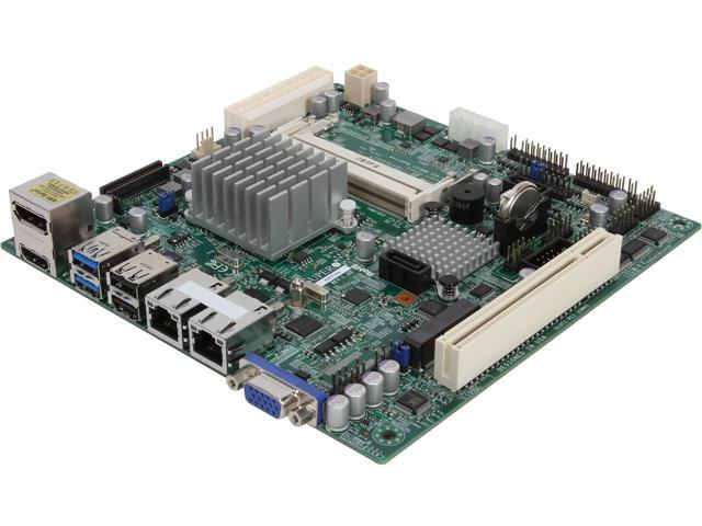 SUPERMICRO MBD-X9SCAA-O Mini ITX Server Motherboard FCBGA559 Intel NM10 DDR3 1066