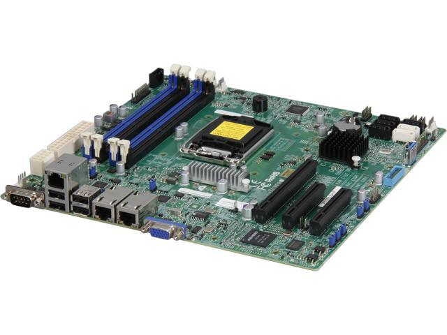 SUPERMICRO MBD-X10SLL+-F-O uATX Server Motherboard LGA 1150 DDR3 1600