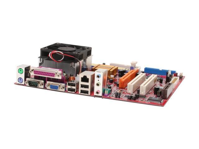PC CHIPS M863G (V3.0C) w/Althon XP-M 1900+ AMD Athlon XP-M 1900+ Processor A (462) SiS 741GX Micro ATX