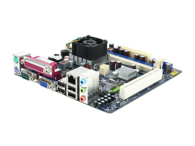 Foxconn D51S Intel Atom D510 Intel NM10 Mini ITX Motherboard/CPU Combo