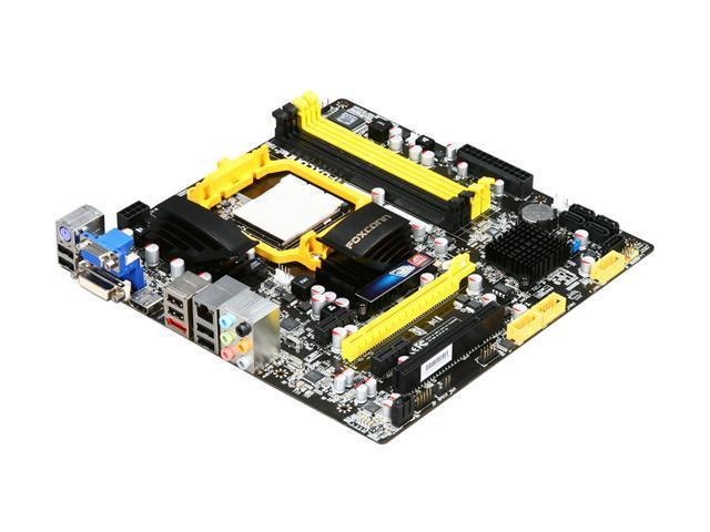 Foxconn A88GMX AM3 AMD 880G + SB710 HDMI Micro ATX AMD Motherboard