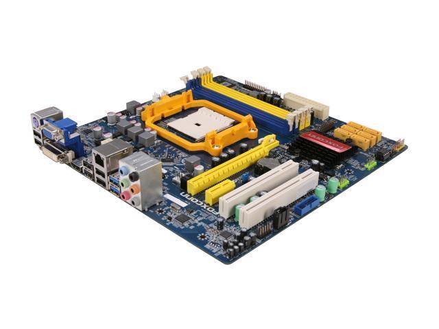 Foxconn A75M FM1 AMD A75 (Hudson D3) SATA 6Gb/s USB 3.0 HDMI Micro ATX AMD Motherboard