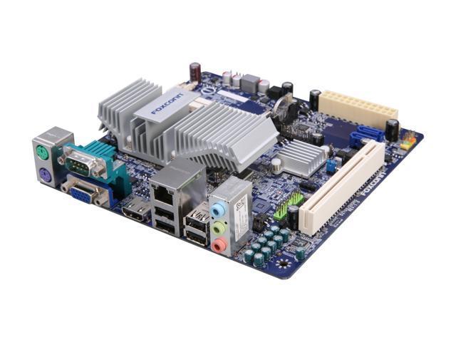 Foxconn D250S Intel Atom D2500 Intel NM10 Mini ITX Motherboard/CPU Combo