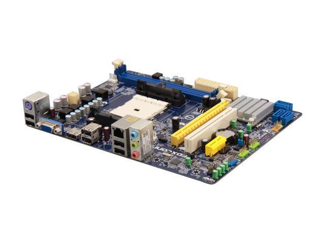 Foxconn A55MX FM1 AMD A55 (Hudson D2) HDMI Micro ATX AMD Motherboard