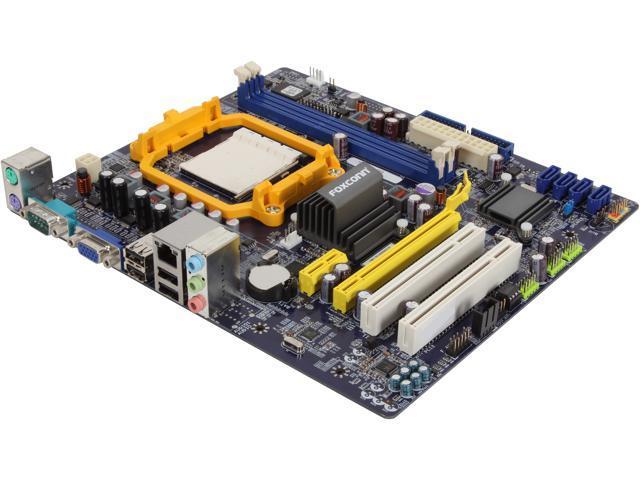 Foxconn A76GMV AM3 AMD 760G Micro ATX AMD Motherboard