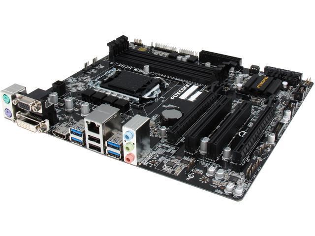 Foxconn H97M Plus LGA 1150 Intel H97 HDMI SATA 6Gb/s USB 3.0 Micro ATX Intel Motherboard