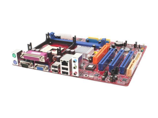 MACH SPEED MATRIX-P4M800 Micro ATX Intel Motherboard