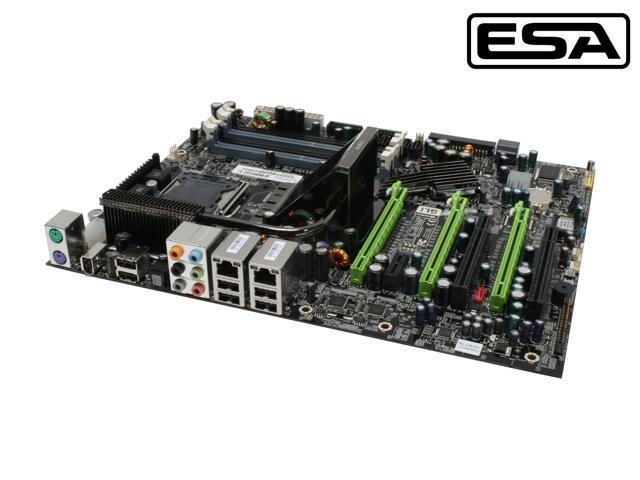 EVGA 132-CK-NF78-A1 LGA 775 NVIDIA nForce 780i SLI ATX Intel Motherboard