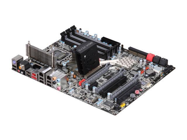 EVGA E758-A1 3-Way SLI (x16/x16/x8) LGA 1366 Intel X58 ATX Intel Motherboard