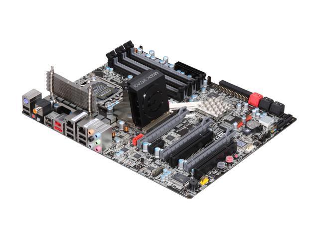 EVGA E758-TR 3-Way SLI (x16/x16/x8) LGA 1366 Intel X58 ATX Intel Motherboard