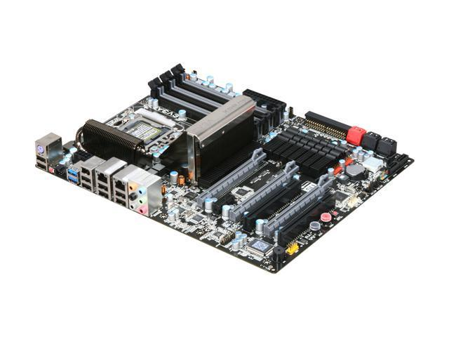 EVGA X58 FTW3 132-GT-E768-TR LGA 1366 Intel X58 SATA 6Gb/s USB 3.0 ATX Intel Motherboard