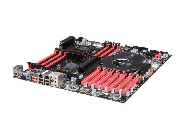EVGA 270-WS-W555-RX LGA 1366 Intel 5520 SATA 6Gb/s USB 3.0 HPTX Intel Motherboard