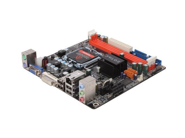 ZOTAC NF630I-D-E LGA 775 NVIDIA GeForce 7100 Mini ITX Intel Motherboard