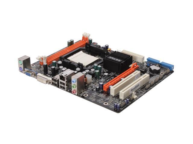 ZOTAC GF8100-A-E AM2+/AM2 NVIDIA GeForce 8100 Micro ATX AMD Motherboard