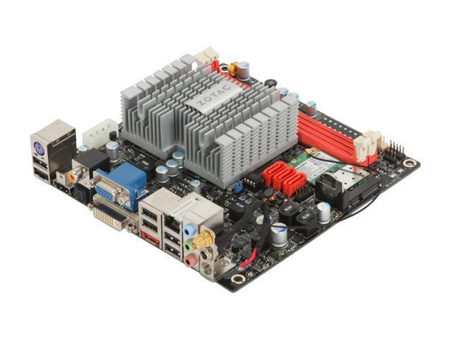ZOTAC IONITX-A-U Atom 330 1.6GHz Dual-Core Mini ITX Motherboard/CPU Combo