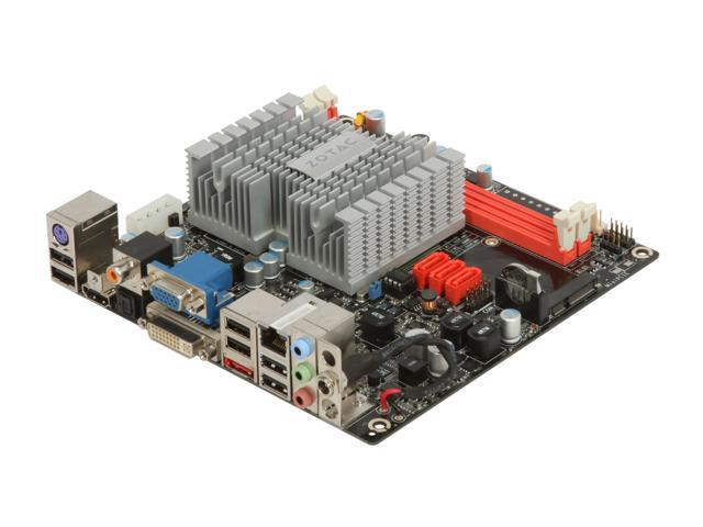 ZOTAC IONITX-C-U Intel Atom 230 Mini ITX ION Platform Motherboard/CPU Combo with 90W PSU