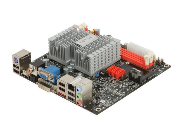 ZOTAC IONITX-B-E Intel Atom 230 1.6GHz Mini ITX ION Platform Motherboard/CPU Combo