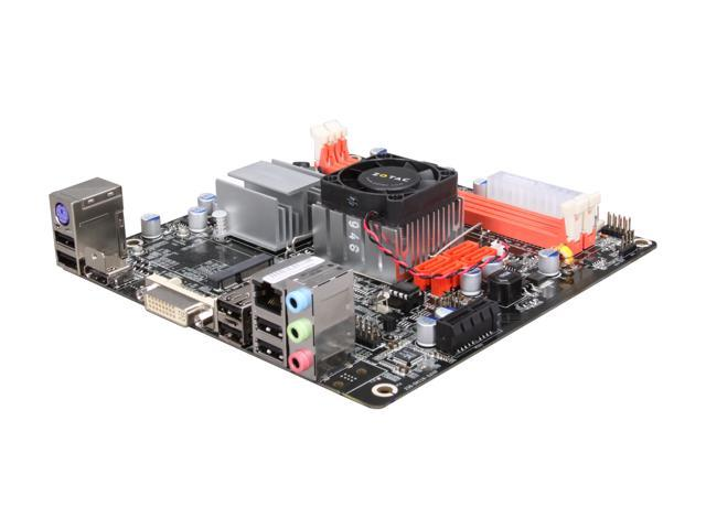 ZOTAC IONITX-E-E Intel Atom 230 (1.6 GHz, single-core) Mini ITX Motherboard/CPU Combo