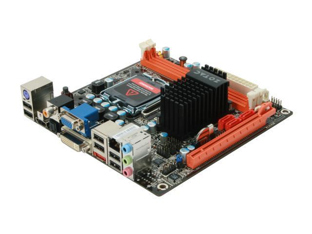 ZOTAC GF9300-I-E LGA 775 NVIDIA GeForce 9300 HDMI Mini ITX Intel Motherboard