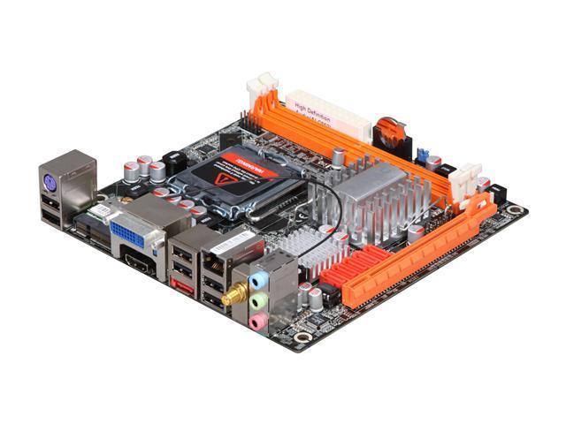 ZOTAC G43ITX-A-E LGA 775 Intel G43 HDMI Mini ITX Intel Motherboard
