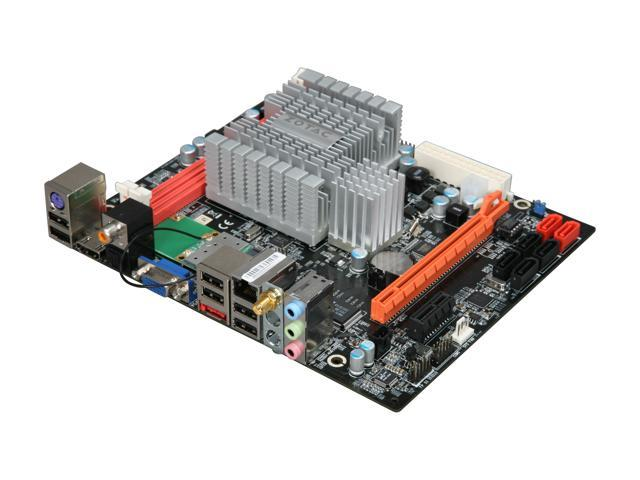 ZOTAC NM10-B-E Intel Atom D510 (1.66GHz, Dual-Core) Intel NM10 Mini DTX Motherboard/CPU Combo