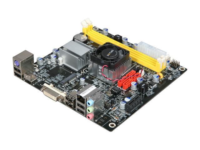 ZOTAC IONITX-K-E Intel Atom 330 (1.6GHz, dual-core) Mini ITX Motherboard/CPU Combo