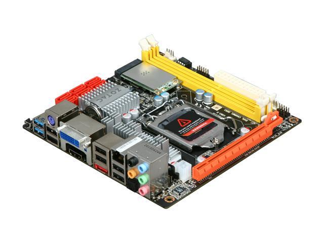ZOTAC H55ITX-C-E LGA 1156 Intel H55 HDMI USB 3.0 Mini ITX Intel Motherboard