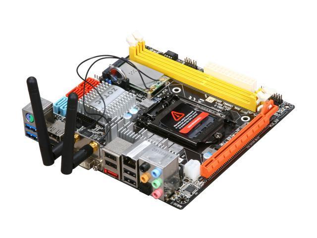 ZOTAC H67ITX-A-E LGA 1155 Intel H67 HDMI SATA 6Gb/s USB 3.0 Mini ITX Intel Motherboard