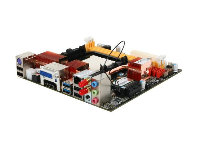 ZOTAC 890GXITX-A-E AM3 AMD 890GX SATA 6Gb/s USB 3.0 HDMI Mini ITX AMD Motherboard