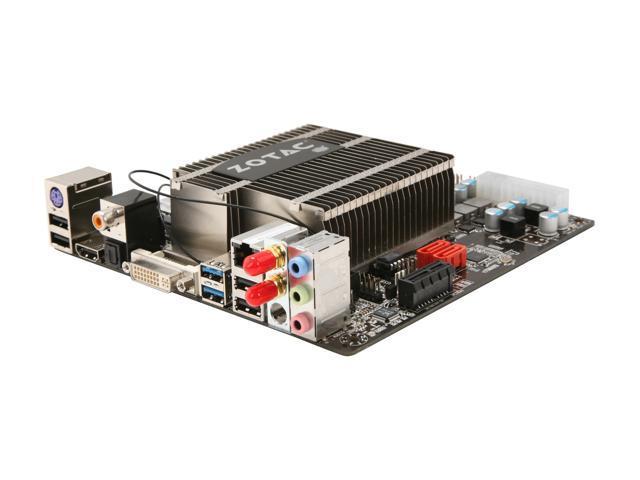 ZOTAC IONITX-S-E Intel Atom D525 (1.8GHz, Dual-Core) Intel NM10 Mini ITX Motherboard/CPU Combo