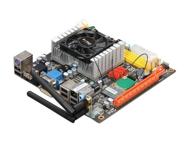 ZOTAC IONITX-N-E Intel Celeron 743 1.3GHz NVIDIA ION Mini ITX Motherboard/CPU Combo